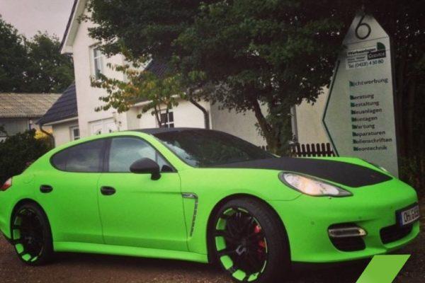 Porsche Autofolierung