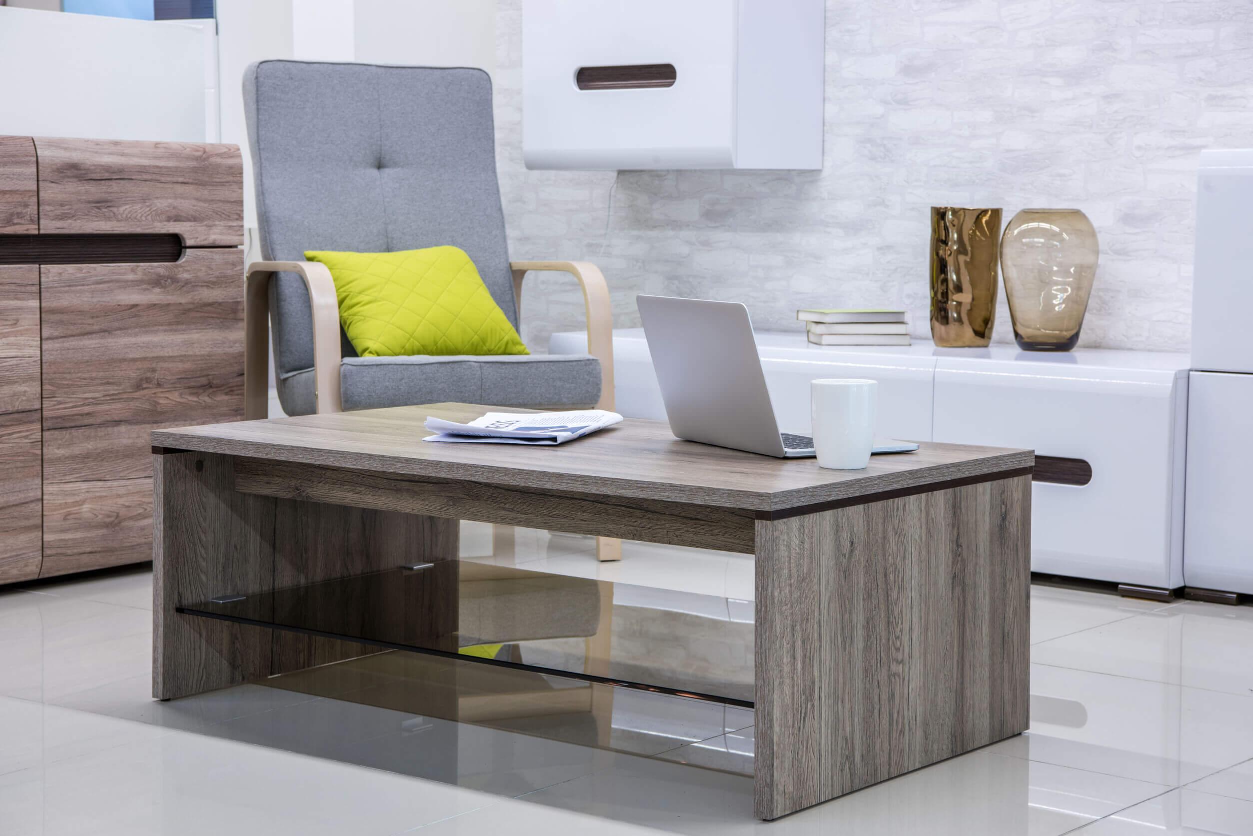 Möbelfolie mit Struktur